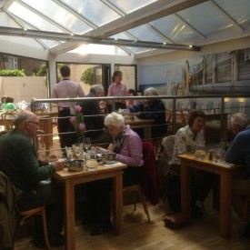 New conservatory open for lunch